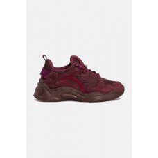 IRO Curverunner Sneakers Shoes - Burgundy Casual on clearance 72PFKQJZ