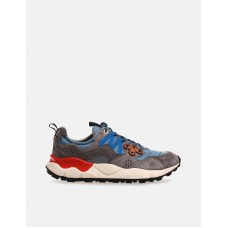 Flower Mountain Nylon/Suede Yamano 3 sneakers - Grey Clearance X2J0TZDM