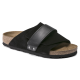Mens Birkenstock Kyoto Narrow shoes - Black for sale EAY0G9GY