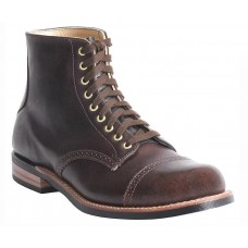 Man Canada West Shoes Moorby Boot - Daly Café Wide Width for sale 99FFWYGG
