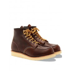 Men Red Wing Shoes 8138 Moc Toe Boot - Brown cheap online IU7ALW3E
