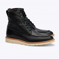 Mens Nisolo Mateo All Weather Boot - Black High End Clearance 1W1DVKH0