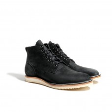 Men's Viberg Service Boot - Charcoal Chamois Roughout Indoor New look N7ONGZ6G