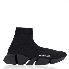 BALENCIAGA Womens Shoes Speed 2 Lite Trainers Office Blk/Blk 1013 275673