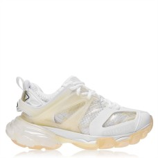 BALENCIAGA Women's Shoes Track Clear Sole Sneaker Fit White 9000 275869