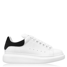 ALEXANDER MCQUEEN Womens Shoes Oversized Trainers Everyday White / Black 234612