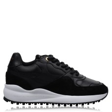 ANDROID FEMME Womens Shoes Santa Monica Trainers Black/White Design 234246