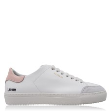 AXEL ARIGATO Women Clean 90 Animal Trainers For Walking White/Pnk/Leprd Fit 276562