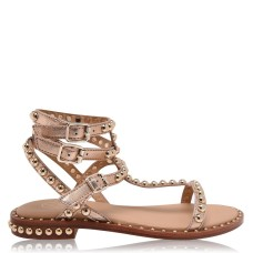 ASH Womens Shoes Play Sandals Gold At Target 231759