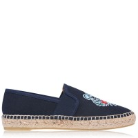 KENZO Women's Shoes Tiger Espadrilles Navy Blue 76 high quality 234139