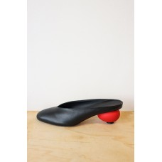 Gray Matters Egg Mules - Nero Rosso Size 12 Wide XG4YV9DN