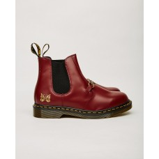 Dr. Martens x Needles 2976 Snaffle Chelsea Boot - Cherry Size 11 Clearance G5A3KFBB