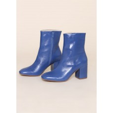 """""""INTENTIONALLY __________."""" Janetta Mid-Height Boots - Periwinkle OQVPKRTV"""