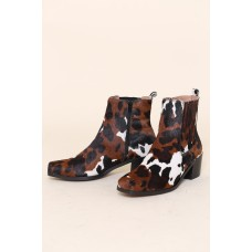 """Womens """"INTENTIONALLY __________."""" Banks Boots - Black/Brown 6ECJ35KD"""
