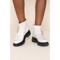 """Women's """"INTENTIONALLY __________."""" Ted Boots - White Work UNJD7ESQ"""